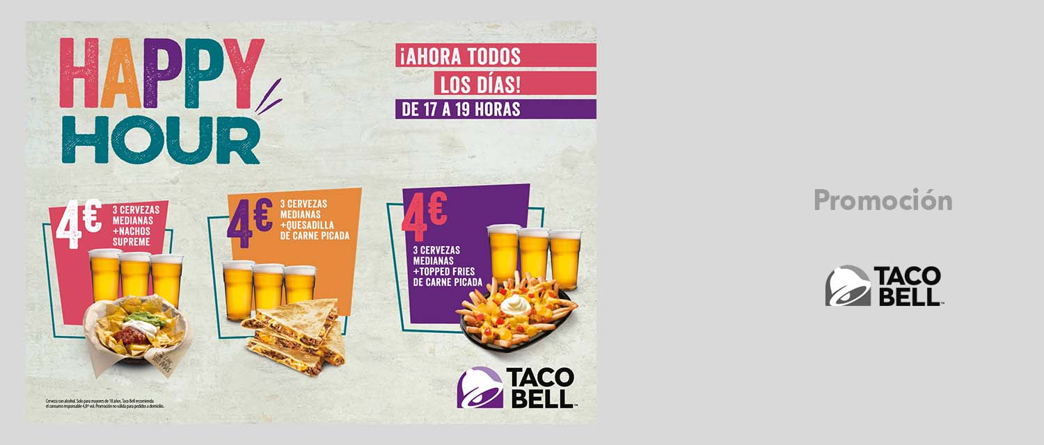 HAPPY HOUR EN TACO BELL